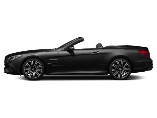 Obsidian Black Metallic 2018 Mercedes-Benz SL Pictures SL SL 450 Roadster photos side view