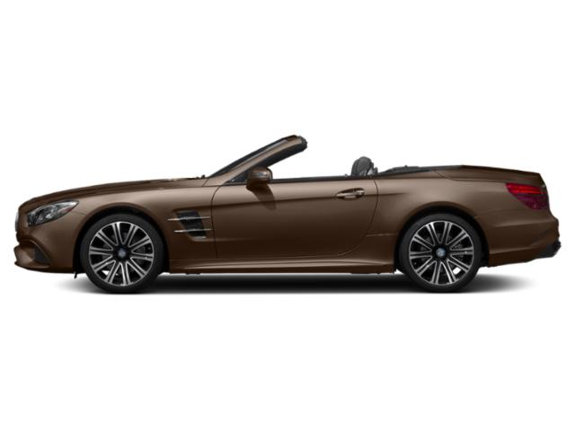 Dolomite Brown Metallic 2018 Mercedes-Benz SL Pictures SL SL 450 Roadster photos side view