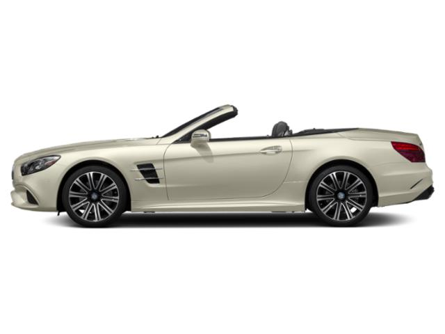 designo Diamond White Metallic 2018 Mercedes-Benz SL Pictures SL SL 450 Roadster photos side view