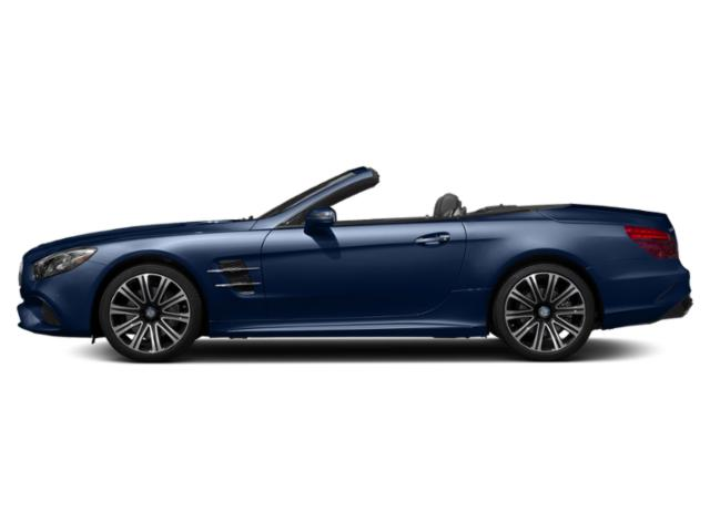 Brilliant Blue Metallic 2018 Mercedes-Benz SL Pictures SL SL 450 Roadster photos side view