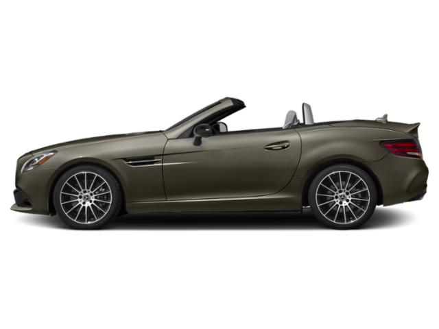 Indium Grey Metallic 2018 Mercedes-Benz SLC Pictures SLC Roadster 2D SLC300 I4 Turbo photos side view