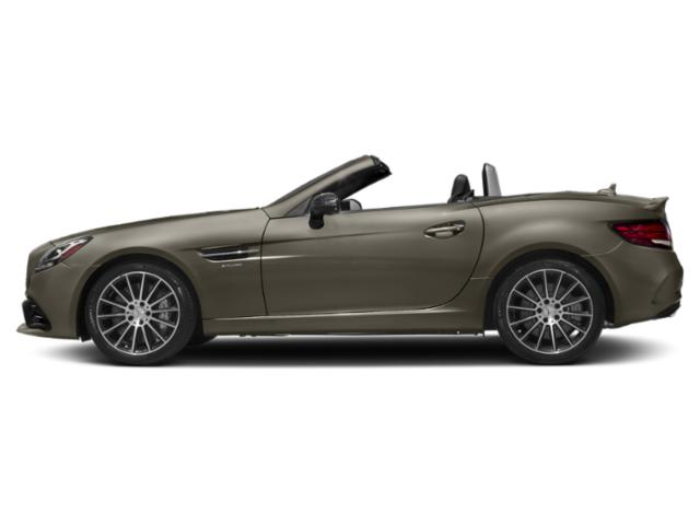 Indium Grey Metallic 2018 Mercedes-Benz SLC Pictures SLC AMG SLC 43 Roadster photos side view