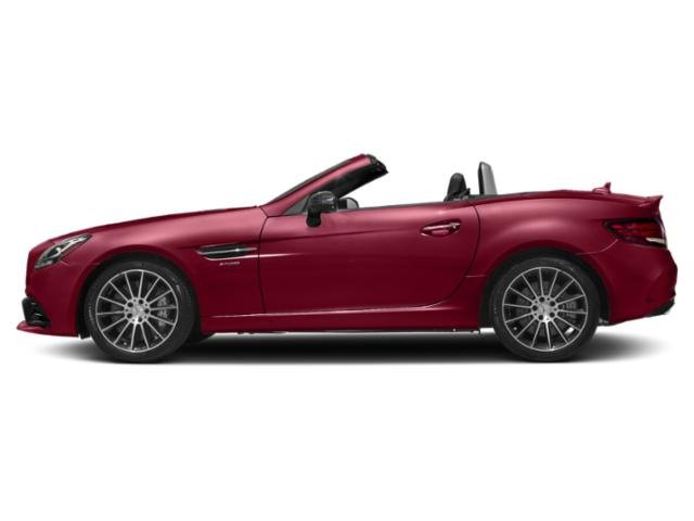 designo Cardinal Red Metallic 2018 Mercedes-Benz SLC Pictures SLC AMG SLC 43 Roadster photos side view
