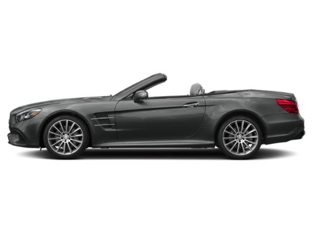 Selenite Grey Metallic 2018 Mercedes-Benz SL Pictures SL SL 550 Roadster photos side view