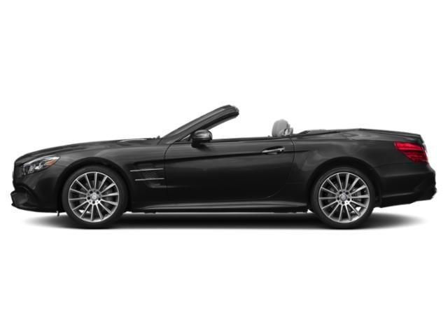 Obsidian Black Metallic 2018 Mercedes-Benz SL Pictures SL SL 550 Roadster photos side view