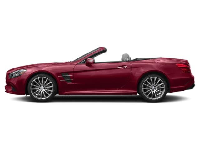designo Cardinal Red Metallic 2018 Mercedes-Benz SL Pictures SL SL 550 Roadster photos side view