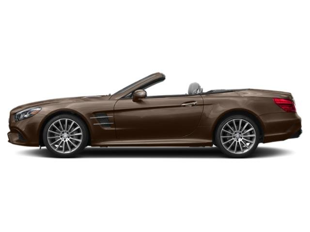 Dolomite Brown Metallic 2018 Mercedes-Benz SL Pictures SL SL 550 Roadster photos side view