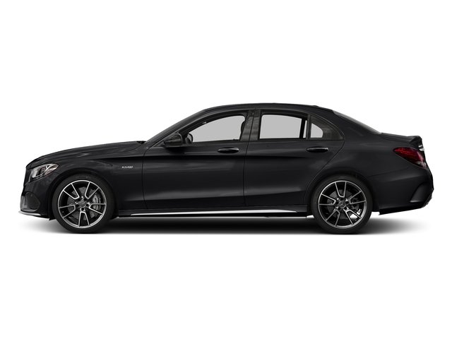 Black 2018 Mercedes-Benz C-Class Pictures C-Class AMG C 43 4MATIC Sedan photos side view
