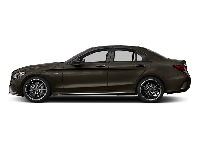 Dakota Brown Metallic 2018 Mercedes-Benz C-Class Pictures C-Class AMG C 43 4MATIC Sedan photos side view