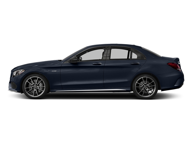 Lunar Blue Metallic 2018 Mercedes-Benz C-Class Pictures C-Class AMG C 43 4MATIC Sedan photos side view