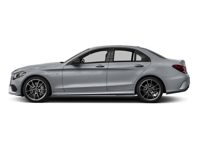 Diamond Silver Metallic 2018 Mercedes-Benz C-Class Pictures C-Class AMG C 43 4MATIC Sedan photos side view
