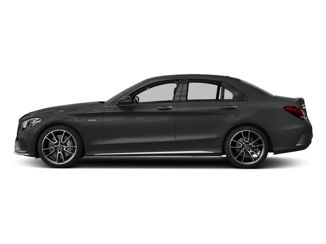 Selenite Grey Metallic 2018 Mercedes-Benz C-Class Pictures C-Class AMG C 43 4MATIC Sedan photos side view