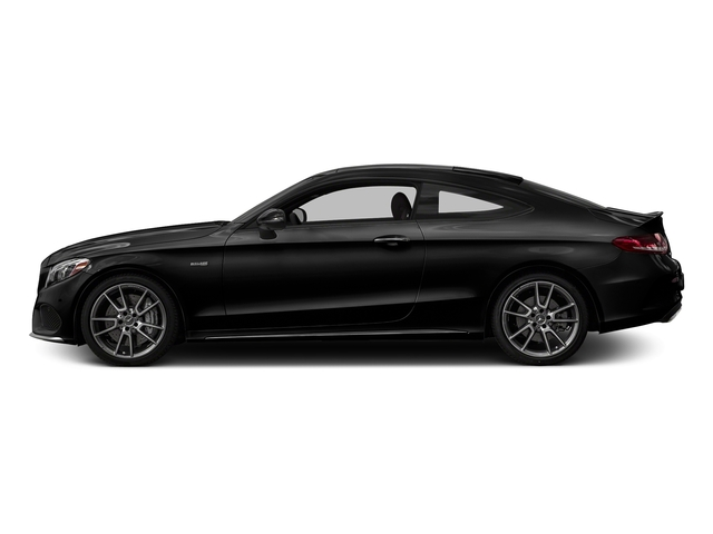 Obsidian Black Metallic 2018 Mercedes-Benz C-Class Pictures C-Class AMG C 43 4MATIC Coupe photos side view