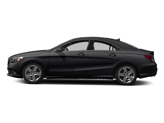 Night Black 2018 Mercedes-Benz CLA Pictures CLA CLA 250 Coupe photos side view