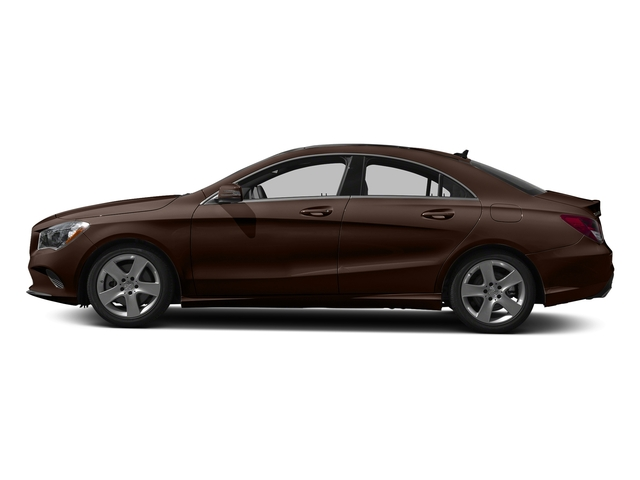 Cocoa Brown Metallic 2018 Mercedes-Benz CLA Pictures CLA CLA 250 4MATIC Coupe photos side view