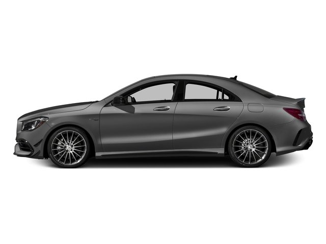 Mountain Grey Metallic 2018 Mercedes-Benz CLA Pictures CLA AMG CLA 45 4MATIC Coupe photos side view