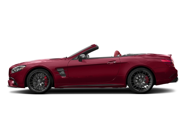 designo Cardinal Red Metallic 2018 Mercedes-Benz SL Pictures SL AMG SL 63 Roadster photos side view