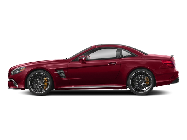 designo Cardinal Red Metallic 2018 Mercedes-Benz SL Pictures SL AMG SL 65 Roadster photos side view