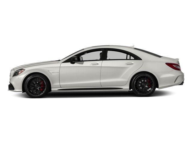 designo Magno Cashmere White (Matte Finish) 2018 Mercedes-Benz CLS Pictures CLS AMG CLS 63 S 4MATIC Coupe photos side view
