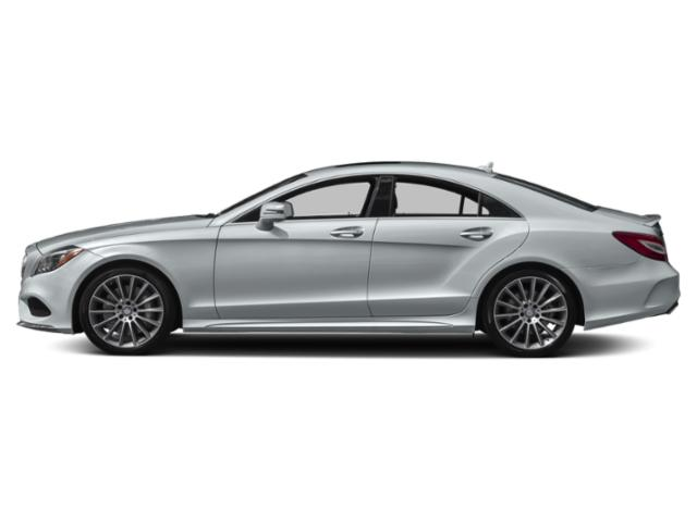 Diamond Silver Metallic 2018 Mercedes-Benz CLS Pictures CLS Sedan 4D CLS550 V8 Turbo photos side view