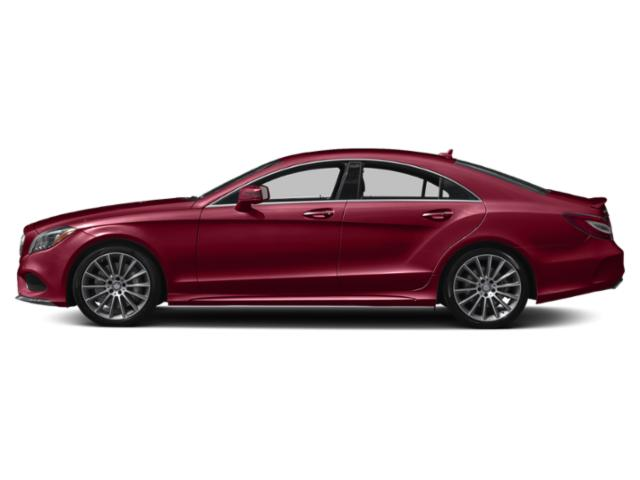 designo Cardinal Red Metallic 2018 Mercedes-Benz CLS Pictures CLS Sedan 4D CLS550 V8 Turbo photos side view
