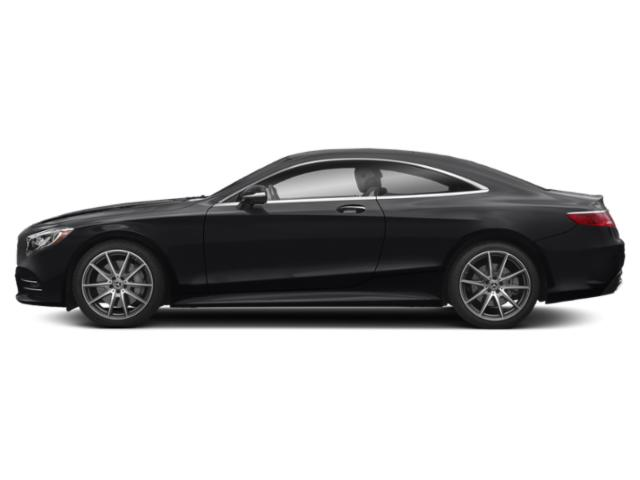Black 2018 Mercedes-Benz S-Class Pictures S-Class S 560 4MATIC Coupe photos side view