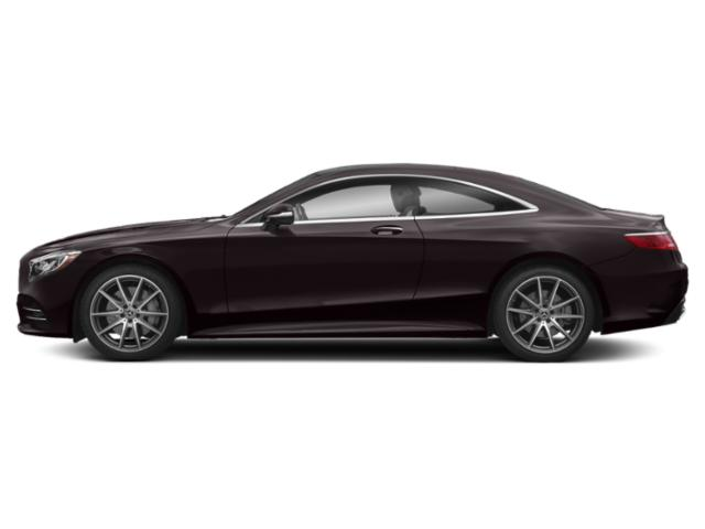 Ruby Black Metallic 2018 Mercedes-Benz S-Class Pictures S-Class S 560 4MATIC Coupe photos side view
