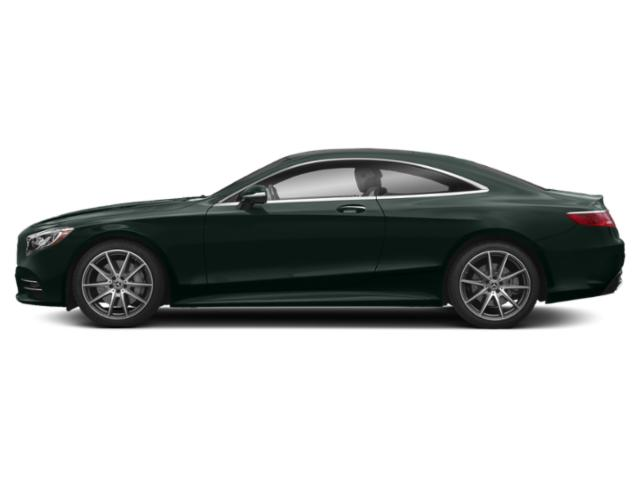Emerald Green Metallic 2018 Mercedes-Benz S-Class Pictures S-Class S 560 4MATIC Coupe photos side view