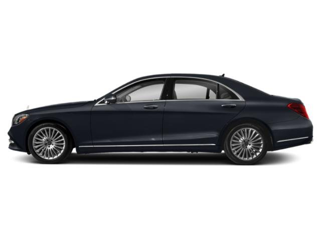 Anthracite Blue Metallic 2018 Mercedes-Benz S-Class Pictures S-Class S 560 Sedan photos side view