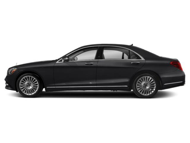 Black 2018 Mercedes-Benz S-Class Pictures S-Class S 560 Sedan photos side view
