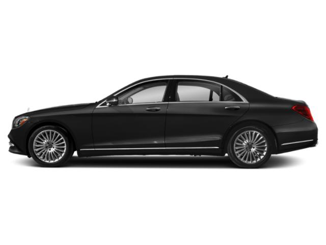 Obsidian Black Metallic 2018 Mercedes-Benz S-Class Pictures S-Class S 560 Sedan photos side view