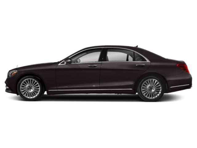 Ruby Black Metallic 2018 Mercedes-Benz S-Class Pictures S-Class S 560 Sedan photos side view