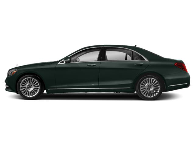 Emerald Green Metallic 2018 Mercedes-Benz S-Class Pictures S-Class S 560 Sedan photos side view