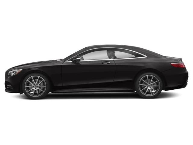 designo Mocha Black Metallic 2018 Mercedes-Benz S-Class Pictures S-Class S 560 4MATIC Coupe photos side view