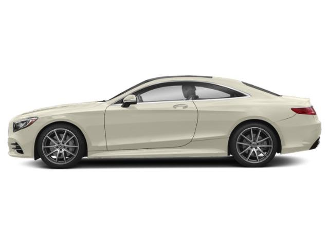 designo Diamond White 2018 Mercedes-Benz S-Class Pictures S-Class S 560 4MATIC Coupe photos side view