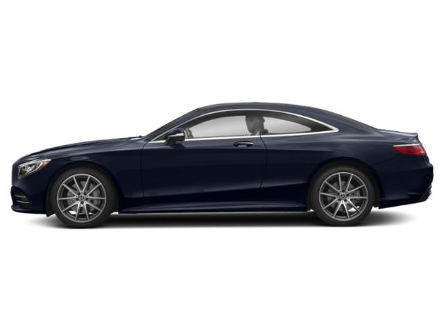 Lunar Blue Metallic 2018 Mercedes-Benz S-Class Pictures S-Class S 560 4MATIC Coupe photos side view