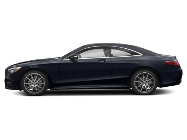 Anthracite Blue Metallic 2018 Mercedes-Benz S-Class Pictures S-Class S 560 4MATIC Coupe photos side view