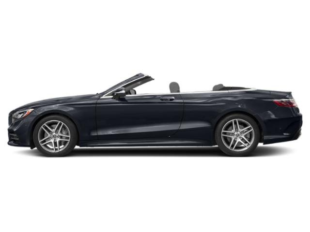 Anthracite Blue Metallic 2018 Mercedes-Benz S-Class Pictures S-Class Convertible 2D S560 photos side view
