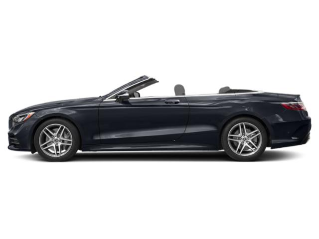 Anthracite Blue Metallic 2018 Mercedes-Benz S-Class Pictures S-Class S 560 Cabriolet photos side view