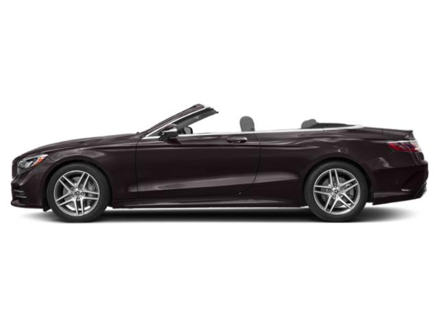 Ruby Black Metallic 2018 Mercedes-Benz S-Class Pictures S-Class Convertible 2D S560 photos side view