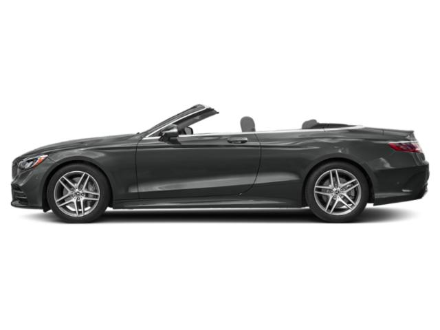 Selenite Grey Metallic 2018 Mercedes-Benz S-Class Pictures S-Class S 560 Cabriolet photos side view