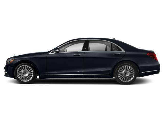 Anthracite Blue Metallic 2018 Mercedes-Benz S-Class Pictures S-Class S 560 4MATIC Sedan photos side view