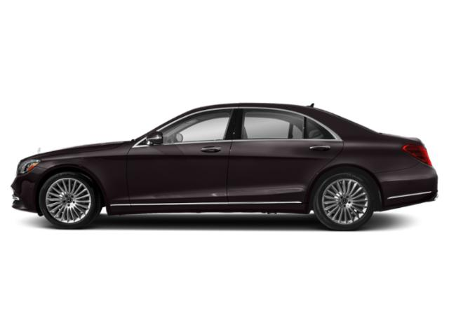 Ruby Black Metallic 2018 Mercedes-Benz S-Class Pictures S-Class S 560 4MATIC Sedan photos side view
