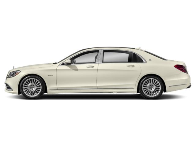 designo Diamond White 2018 Mercedes-Benz S-Class Pictures S-Class Maybach S 560 4MATIC Sedan photos side view