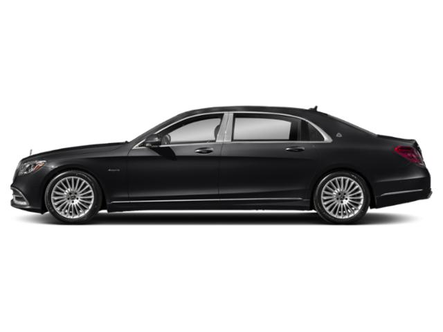 Black 2018 Mercedes-Benz S-Class Pictures S-Class Maybach S 560 4MATIC Sedan photos side view