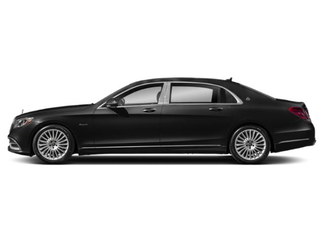 Magnetite Black Metallic 2018 Mercedes-Benz S-Class Pictures S-Class Maybach S 560 4MATIC Sedan photos side view