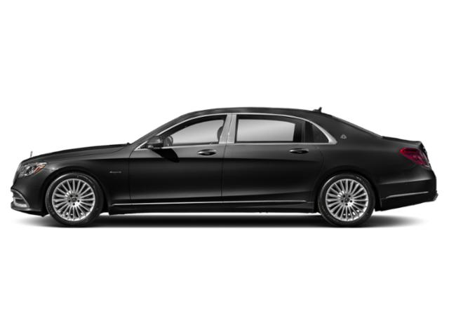 Obsidian Black Metallic 2018 Mercedes-Benz S-Class Pictures S-Class Maybach S 560 4MATIC Sedan photos side view