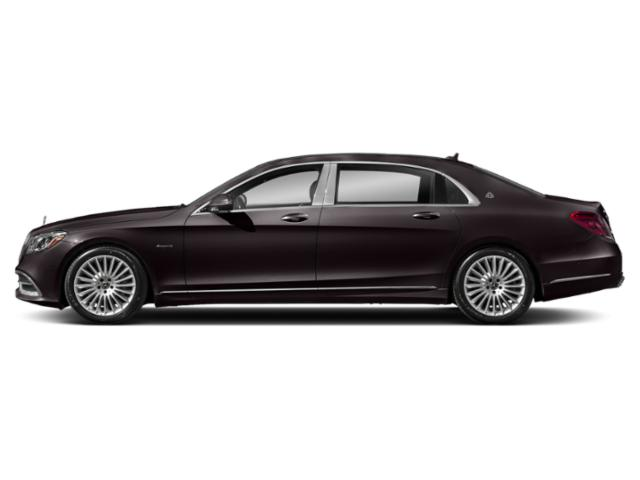 Ruby Black Metallic 2018 Mercedes-Benz S-Class Pictures S-Class Maybach S 560 4MATIC Sedan photos side view