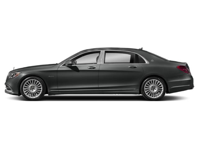 Selenite Grey Metallic 2018 Mercedes-Benz S-Class Pictures S-Class Maybach S 560 4MATIC Sedan photos side view