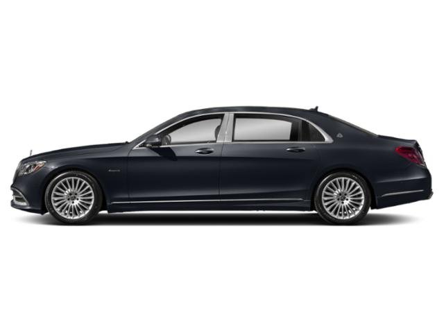 Anthracite Blue Metallic 2018 Mercedes-Benz S-Class Pictures S-Class Maybach S 560 4MATIC Sedan photos side view